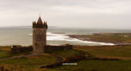 Castle in Ireland by caroline0neill