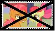 Anti AppleSeed Stamp by KittyJewelpet78