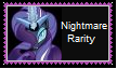 (Request) Nightmare Rarity Stamp by KittyJewelpet78