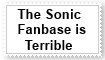 Anti Sonic Fanbase Stamp by KittyJewelpet78
