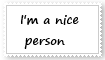 Nice Person Stamp by KittyJewelpet78