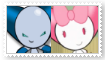 (Request) Robot boyXRobot girl Stamp by KittyJewelpet78