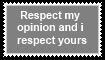 Respect my Opinions by KittyJewelpet78