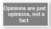 (Request) Opinions are opinions Stamp by KittyJewelpet78