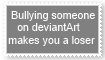Bullying makes you a loser by KittyJewelpet78