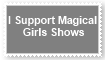 (Request) Support Magical Girls Shows Stamp by KittyJewelpet78