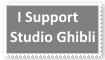 (Request) Support Studio Ghibli Stamp by KittyJewelpet78