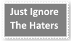 (Request) Just ignore the haters Stamp by KittyJewelpet78