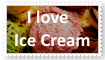 I love Ice Cream Stamp by KittyJewelpet78