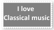 Classical Music Stamp by KittyJewelpet78