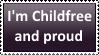 Childfree Stamp by KittyJewelpet78