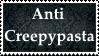 (Request) Anti CreepyPasta Stamp by KittyJewelpet78