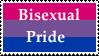 Bisexual Pride Stamp by KittyJewelpet78