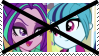 (Request) Anti Sonata Dusk X Aria Blaze Stamp by KittyJewelpet78