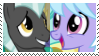 (Request) Thunderlane X Cloudchaser Stamp by KittyJewelpet78