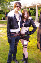 Squall, Male and Female. Final Fantasy VIII by EminenceRain