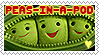 Love Peas-in-a-Pod stamp by SunsetCat