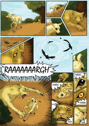 The Lion and the Antelope - page 3 by Fencill
