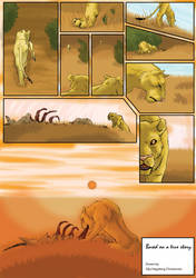 The Lion and the Antelope - page 4 by Fencill