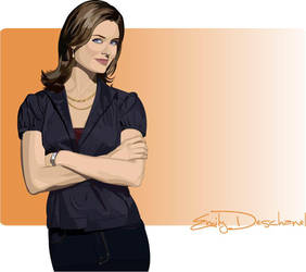 Emily Deschanel by lonely-stars