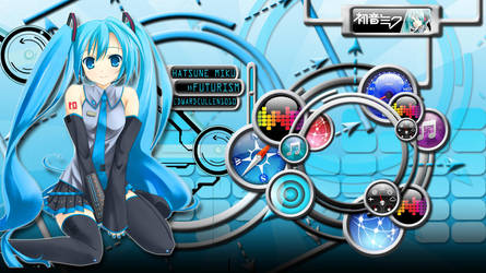 Futurism -Miku Wallpaper- by EdwardCullen1010