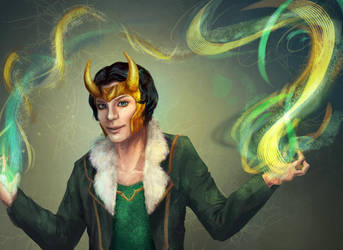 Agent of Asgard Loki by starthief-alice