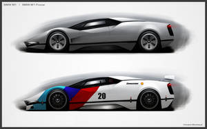 Revival BMW M1 by Vincent-Montreuil