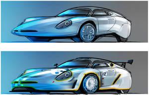Porsche -main - race- by Vincent-Montreuil