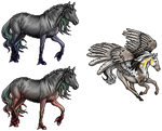 [GIFT] Aleta and Syrena pixels! by relibelli