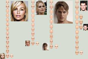 Face Progress Sheet by isoldel