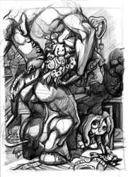 The Golliwog by ClownDomain