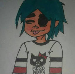 2D by slipknotcats2