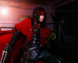 FF7 - Vincent Valentine cosplay by Akitozz6