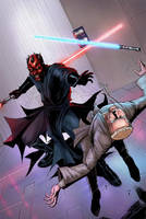 Darth Maul by davidnewbold