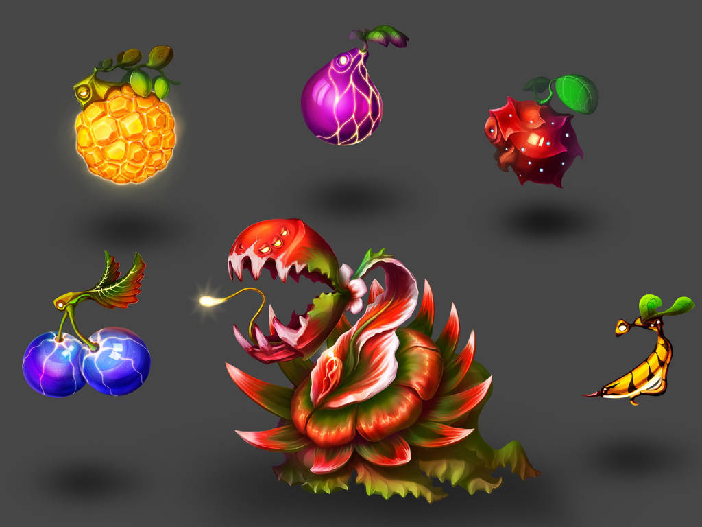 MonstroFruits by Sanset