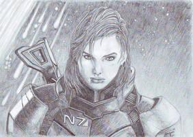 Shepard by Angua33