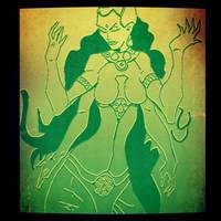 Lakshmi design by Gotzendammerung