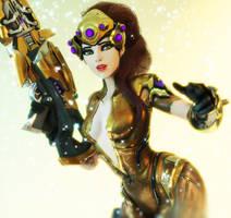 [Overwatch] Golden Widow by Brownie-Ari
