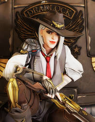 [Overwatch] Ashe by Brownie-Ari