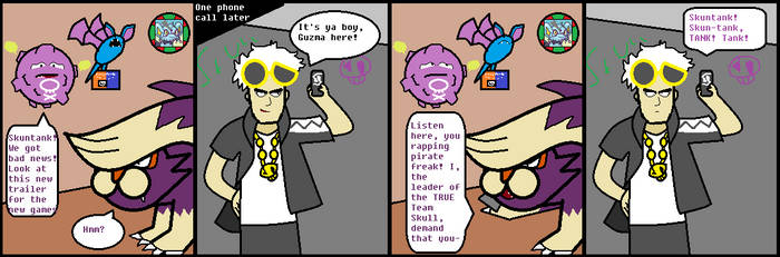 MMV Comics #1 - Skull by Zoruacrossing