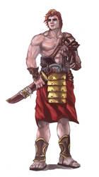 Gladiator WIP by yangtsur