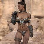 Agrat The Warrior by TritiumCG