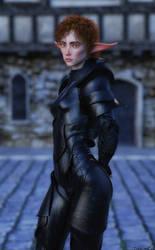 Captain Of The Guard by TritiumCG