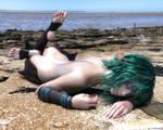 Nap On The Beach by TritiumCG