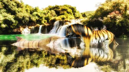 Tiger Stripes 2 by TritiumCG