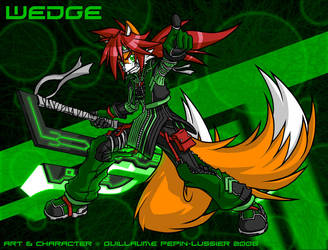 Wedge -furball- by wedgeprower