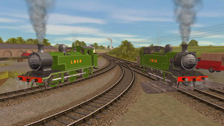 Sodor and Mainland E2 vs My FINISHED E2 by Gameoholic1994