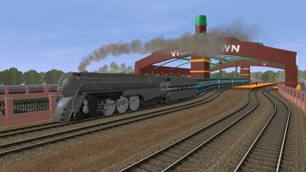 Connor Racing Through Vicarstown by Gameoholic1994