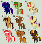 MLP Adopts: 10 points [5/10 OPEN] by Llamagal21