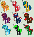 Mlp Adopts: 5-10 points [OPEN 8/9] by Llamagal21